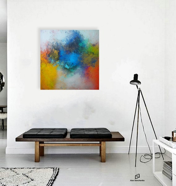 abstract painting / paintings on canvas / sculpture wall art / large wall art / large painting / original abstract painting / abstract
