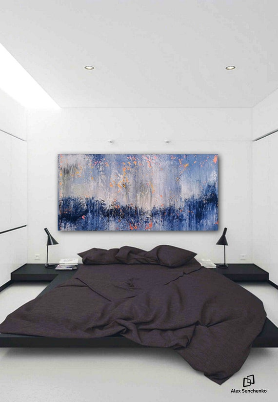 200x100cm / original abstract painting / modern paintings on canvas / abstract painting / large wall art / modern abstract painting / art