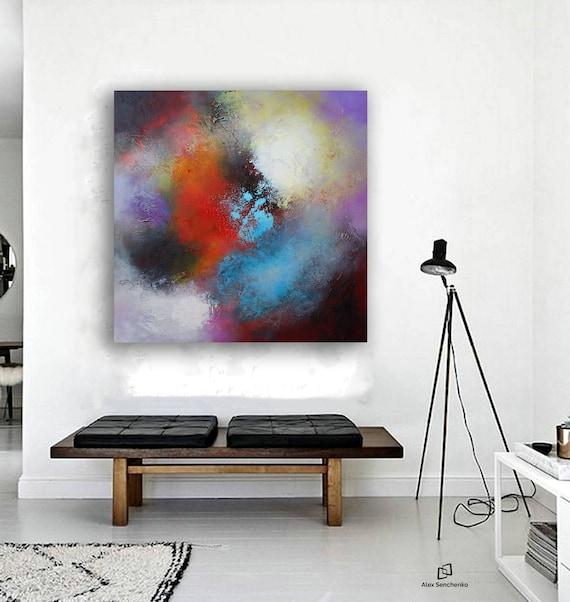 ABSTRACT PAINTING / abstract art / wall art / original painting / acrylic painting / painting / large painting / modern art / 2017