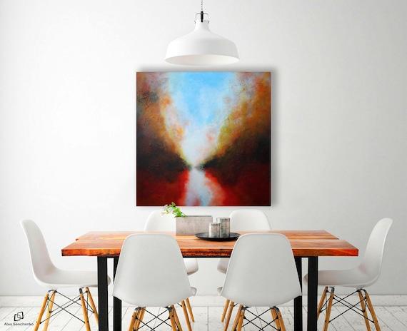 ABSTRACT PAINTING / abstract art / wall art / original painting / acrylic painting / painting / large painting / modern art /  art