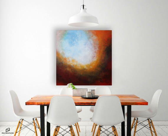 painting / abstract painting / acrylic painting / wall art / original painting / abstract / abstract art / large painting / Free Shipping ..