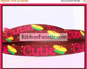 """75% off 5 yds 5/8"""" Cutie Pie Grosgrain Ribbon"""