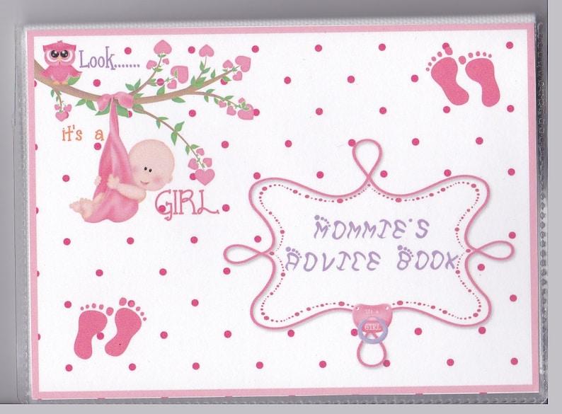 It/'s a BoyGirl Feet Baby Shower AdviceActivity Books