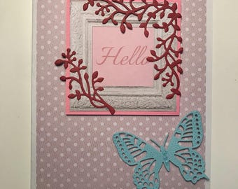 Handmade Hello Card