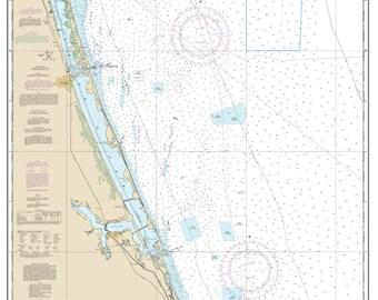 Hobe Sound Florida Map.Jupiter Florida Map Etsy