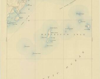 Tenants Harbor Maine Map.Tenants Harbor Etsy