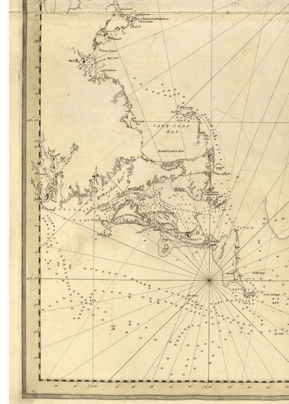 Coast of New England 1776 Map - Revolutionary War Survey by British on map of long island 1776, map of north america 1776, map of nantucket 1776, map of manhattan 1776, map of africa 1776, map of germany 1776, map of great britain 1776, map of american colonies 1776, map of mexico 1776, map of united states 1776, map of texas 1776, map of dorchester heights 1776, map of california 1776, map of massachusetts 1776, map of philadelphia 1776, map of alaska 1776, map of canada 1776, map of russia 1776, map of trenton 1776, map of virginia 1776,