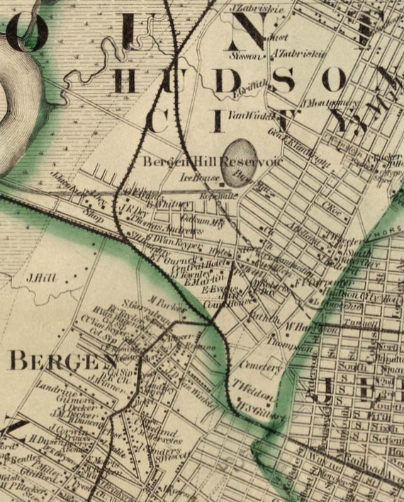 Hudson County NJ 1860 Map - Custom Reprint with Homeowner Names New on map of nj districts, map of nj train stations, map of nj warren, map of nj town, map of nj elevation, map of nj by city, map sc county, map of nj hunting zones, map of nj shoreline, map of nj jackson, map of nj interstates, new york nj county, map of nj coast, map of nj township, map of nj colony, map of nj utilities, map of nj regions, map of nj counties, map of nj state, map nc county,