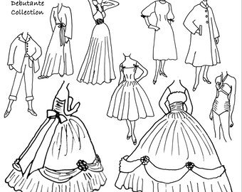 1600s Renaissance Costume Clothing Pattern Collection For Etsy