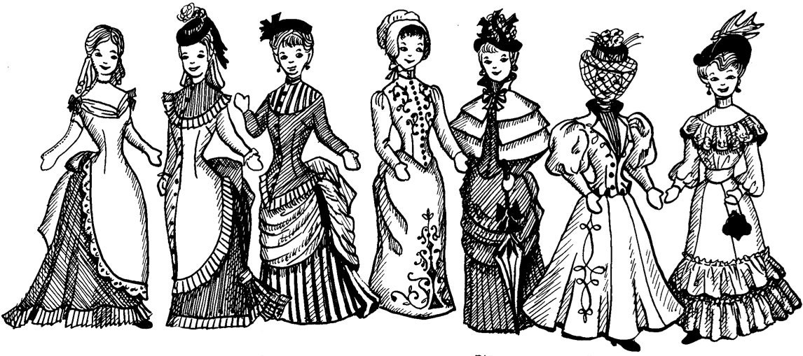 1870 1890s Victorian & Wild West Costume Sewing Pattern | Etsy