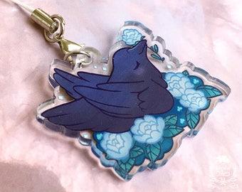 Blackbird at Midnight Charm