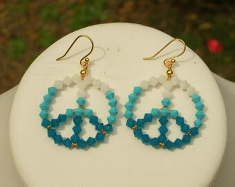 Crystal Peace Earrings