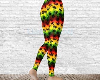 7ee9aca85dd710 Relax Man Leggings - Adult & Capri, Yoga Leggings, Printed Tights, Yoga  Pants, Printed Leggings, Pot Legging, TC