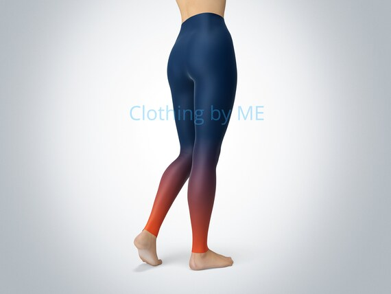 2018 Woman Yoga Pants Denver Broncos Fitness Fiber Leggings Tights Trousers