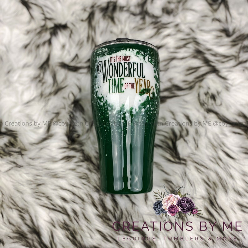 The Most Wonderful Time of the Year Tumbler Custom Christmas image 0