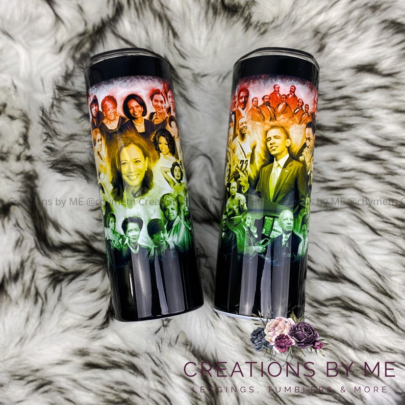 Black History Month Tumbler WOMEN ONLY Black Women of History image 0
