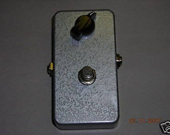 Fuzz box kit DIY build your own fuzz box for beginners guitar bass pedal