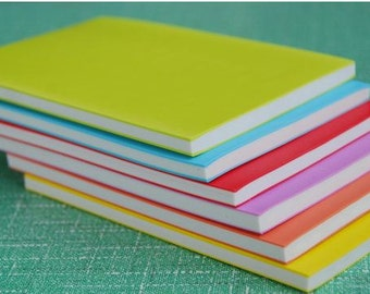 Large Colored Surface Rubber Stamp Carving Blocks for DIY own stamps 15 X 10 cm