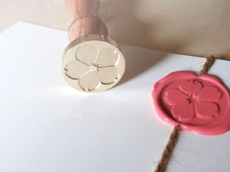 Cherry Blossom Wax Seal Stamp