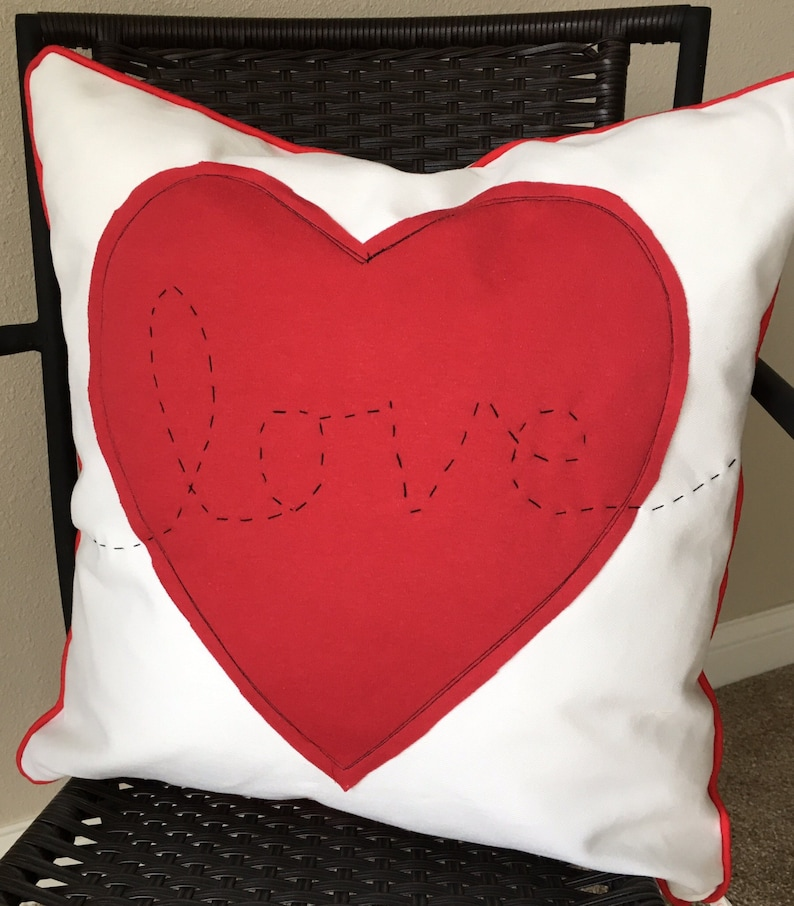 Love Pillow Cover 20 x 20 inch Pillow