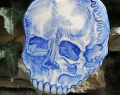 16th Century inspired skull hanging decoration