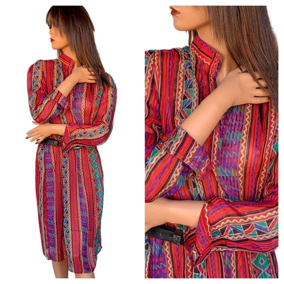 Vintage 80\u2019s B.G.B LTD Dress