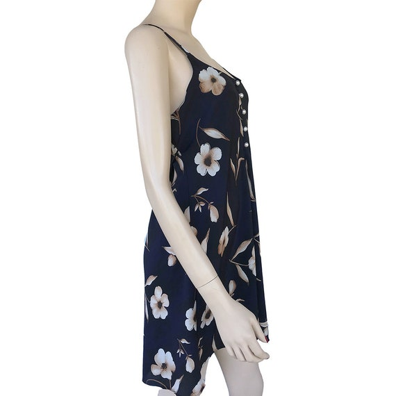 90's Floral Slip Dress Spaghetti Strap Dress With… - image 6