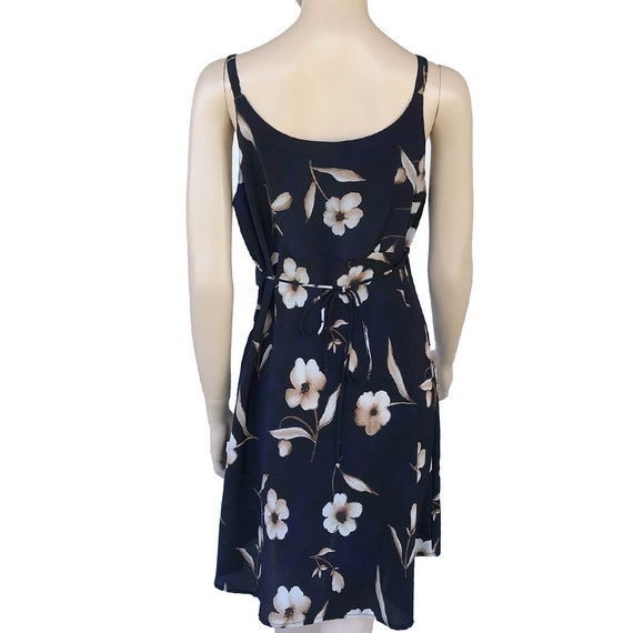 90's Floral Slip Dress Spaghetti Strap Dress With… - image 4