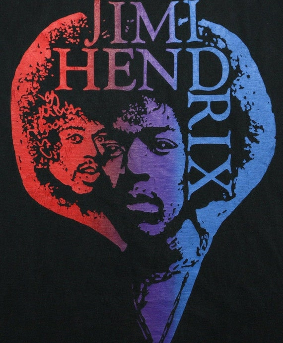 JIMI HENDRIX ;  USED  T  Shirt