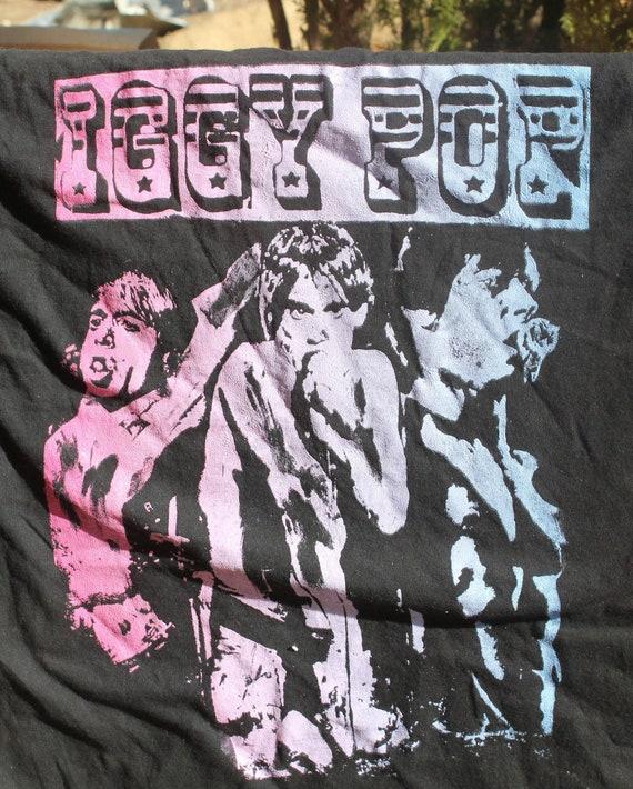 IGGY POP ,  Used  ;  PUNK  ; T shirt