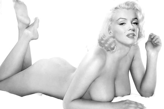 Marilyn Monroe Sexy Nude Naked