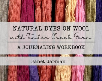 Natural Dyes on Wool with Timber Creek Farm