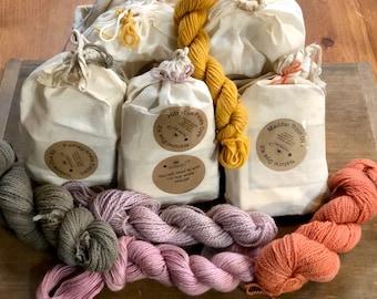 Natural Dye Kits for Wool