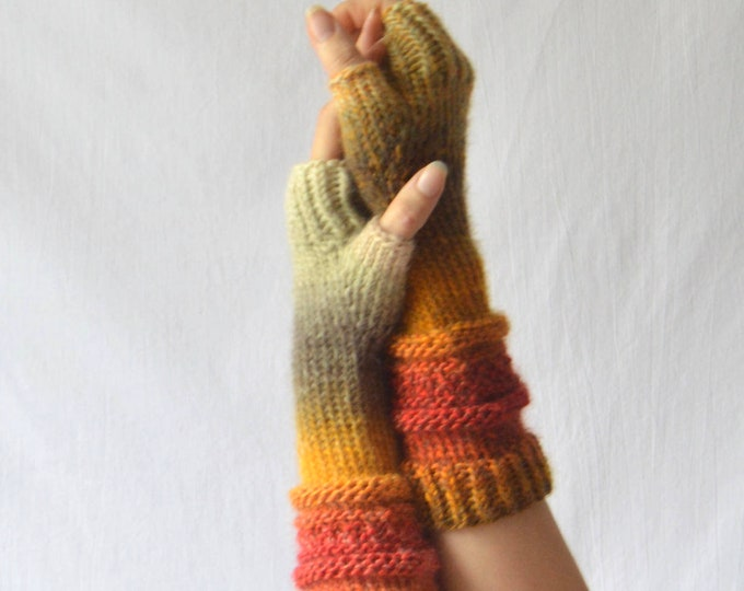 Josie Fingerless Glove Pattern