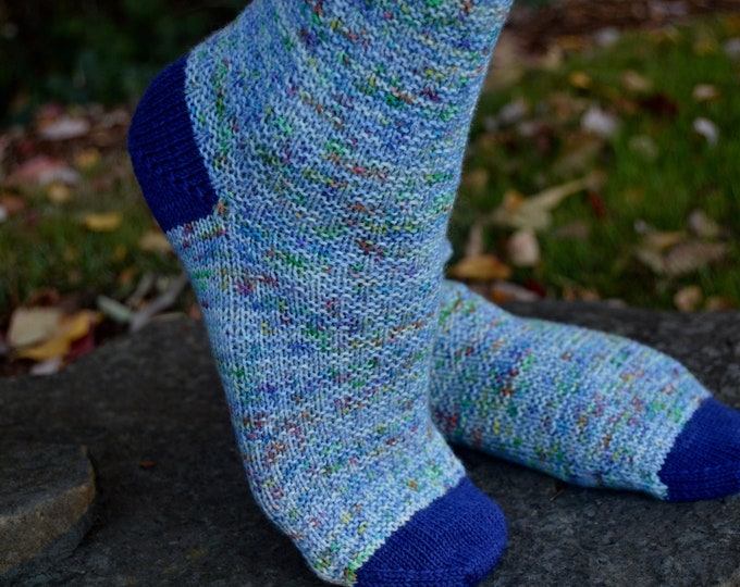 Adventure Is Out There Sock Pattern
