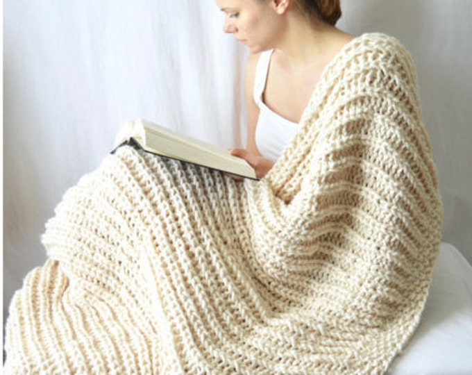 Fishermans Cove Blanket Knitting Pattern