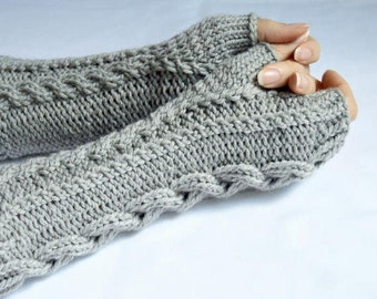 BOHO Fingerless Glove Pattern