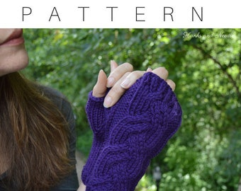Graces Gloves Knitting Pattern