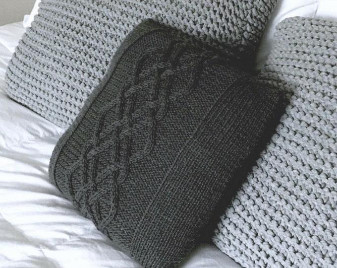 Willow Pillow Knitting Pattern PDF Download