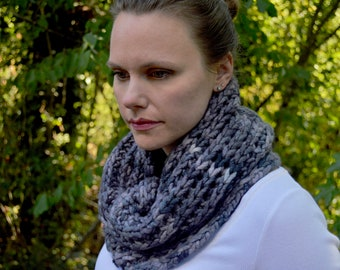 Autumn Sunset Cowl Knitting PDF Pattern