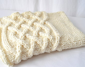 Celtic Cable Chunky Knitting Pattern