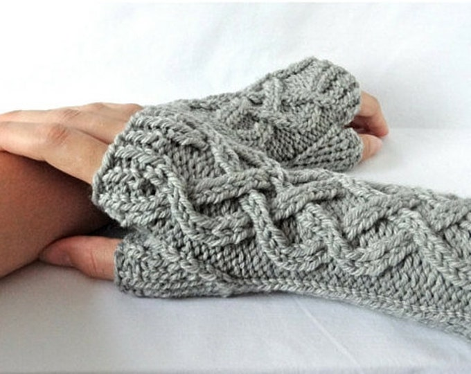 Celtic Fingerless Glove Pattern