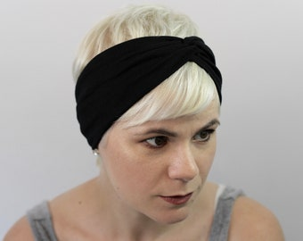 9b409c6dfbcd Black Turban Headband