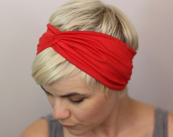 844ecb89396b Red turban headband