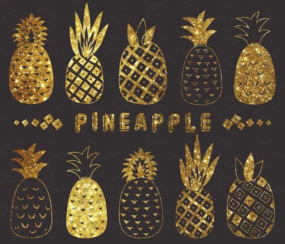 Items Similar To Chalkboard Glitter Pineapple Glitter