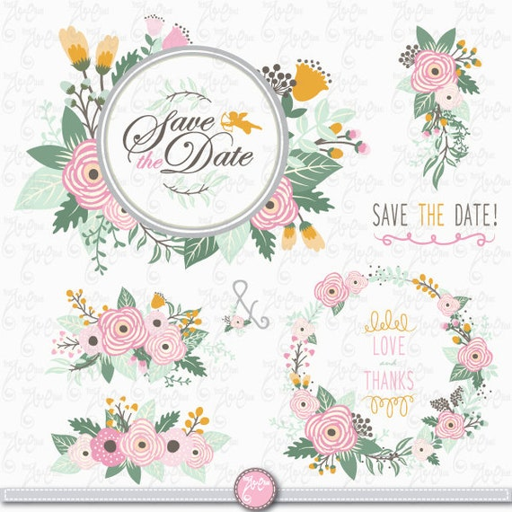 Paquete De Boda Ramo De Flores Flores Vintage Etsy