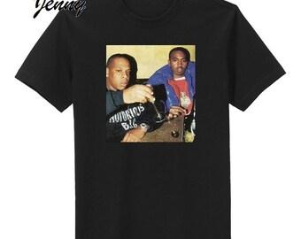 bba4f11a0b61 Custom Jay-Z   Nas shirt- King of NY Hip-Hop T Shirt  all sizes