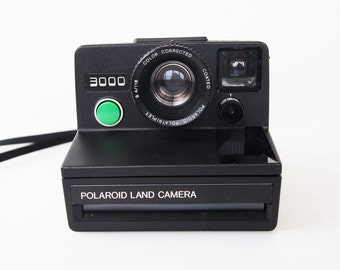 Polaroid 3000 Rangefinder OneStep Camera  TESTED
