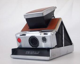 Polaroid SX-70  Land Camera foldable WORKS