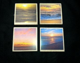 Sunrise Coasters